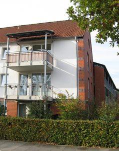 CASA VITA Arsten Bremen Wohnen mit Service Außenansicht Wohnung