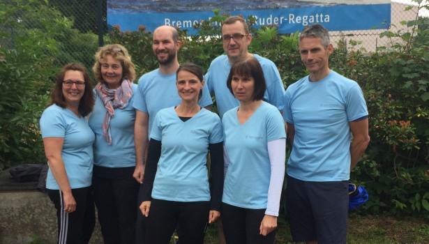 Ruder-Team der Zentrale für Private Fürsorge Ruder Regatta in Bremen Aktuelles