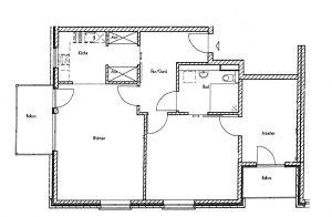 Grundris CASA VITA Arsten Wohnung 2.04