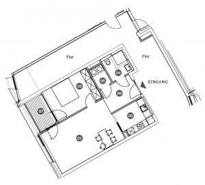 CASA NUVO Grundriss Wohnung 0.2 1.2. 2.2