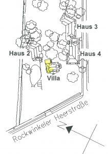 Lage der Villa im CASA VITA Oberneuland